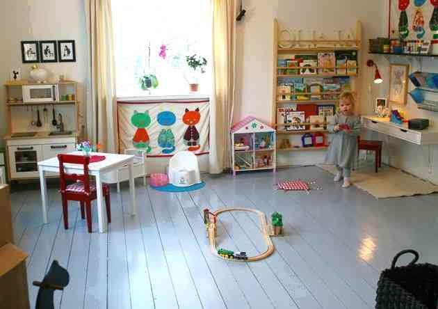 Как оформить детскую чтобы ребёнок быстрее развивался?
