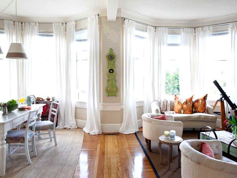 Эркерное окно - как сделать недостаток планировки комнаты ее изюминкой