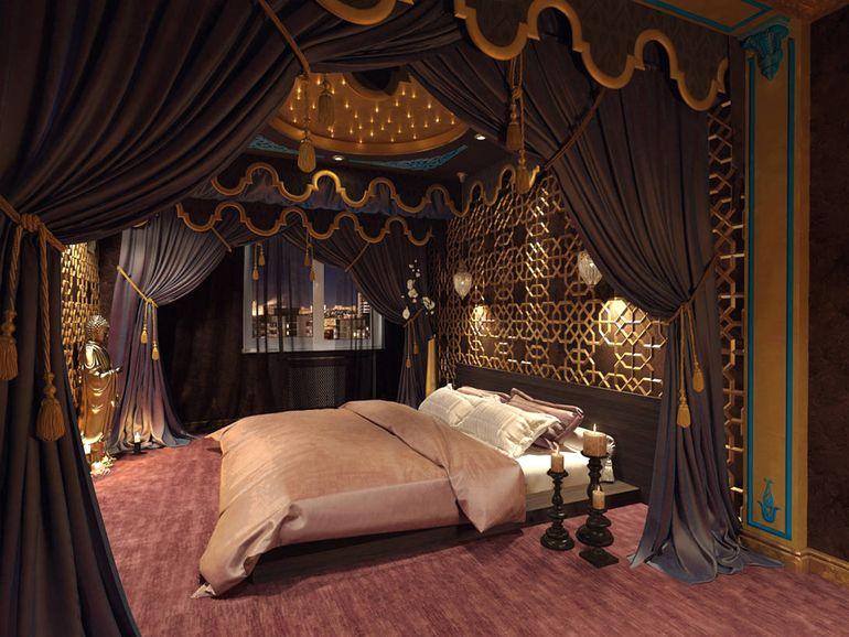 Как создать интерьер спальни в восточном стиле и не переборщить