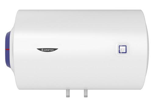 Горизонтальный водонагреватель. Установка