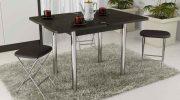 Какой выбрать обеденный стол для маленькой квартиры