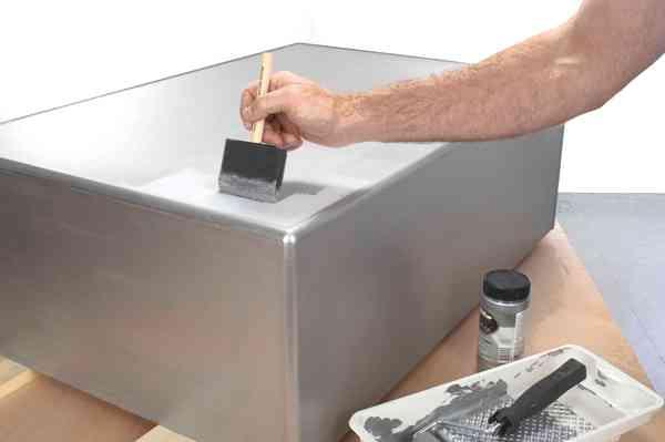 Краска серебрянка - 5 способов сделать ваш интерьер дороже