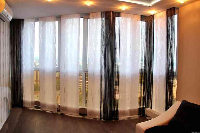 Как украсить квартиру с помощью японских штор