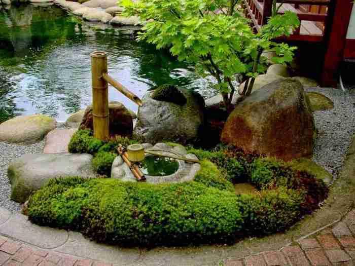 Японский сад на своём участке это просто