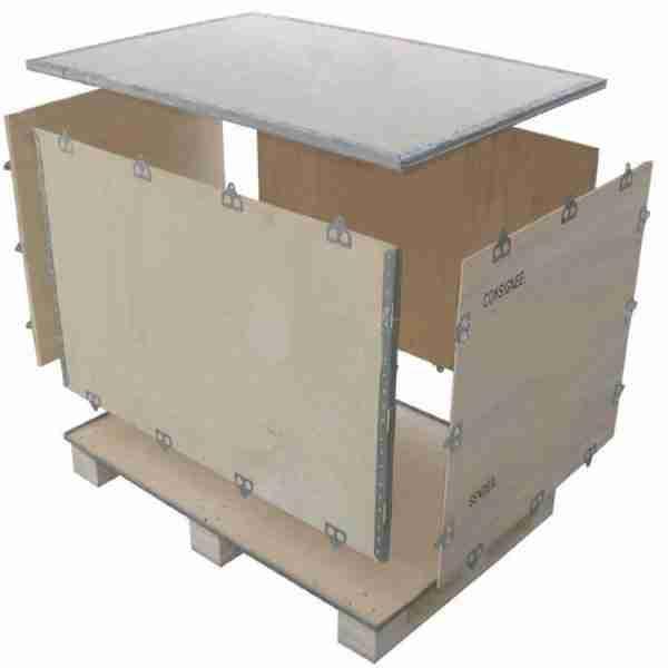 Ящик в разобранном виде