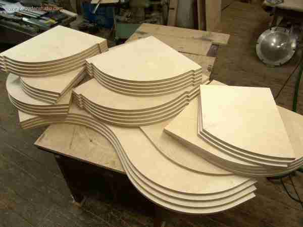 Заготовки нарезаны ручным фрезером