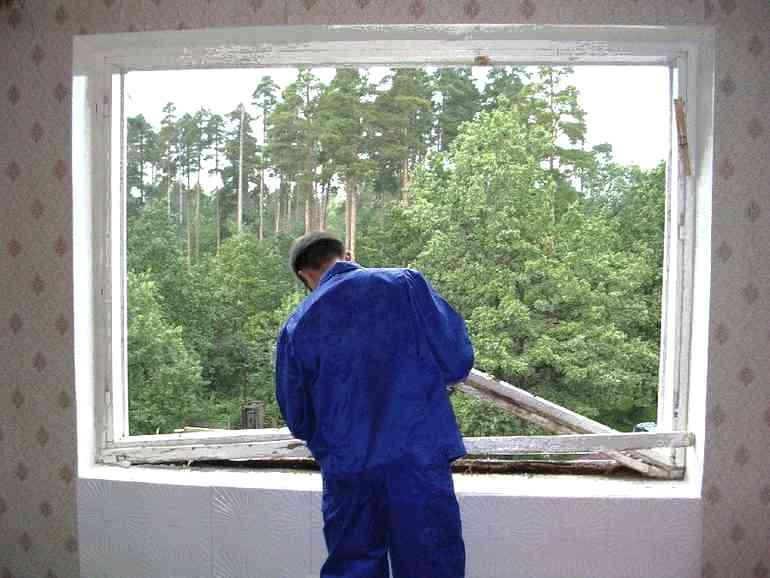 На каком этапе ремонта поздно менять стеклопакеты?