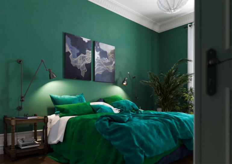 Как подобрать идеальную цветовую гамму для спальни